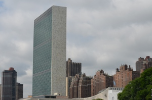 Passing the aging UN Building