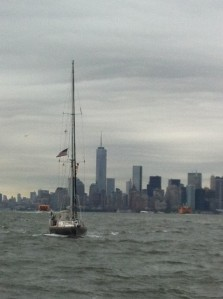 Brizo leaving NY Harbor