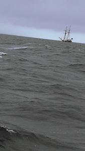 Sultanna at Sea